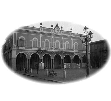 la piazza di Castelsangiovanni