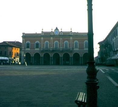 scorci del centro a Castel San Giovanni