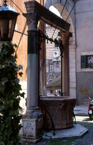 pozzo in centro storico