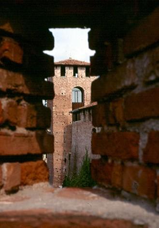 finestra su Verona