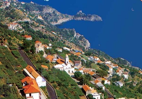 veduta-mare Costa d'Amalfi