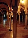 interno dell'Abbazia di Nonantola