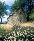 capanna celtica a Riolunato