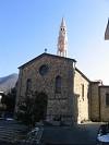 la chiesa di Marsaglia in alta Val Trebbia