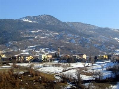 veduta di Marsaglia in alta Val Trebbia