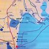 cartina dei Lidi di Comacchio