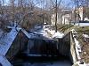 corso d'acqua nel centro di Morfasso
