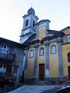 chiesa di Cerreto nel comune di Zerba in alta val Trebbia