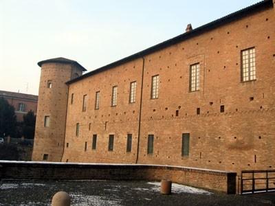 scorcio di Palazzo Farnese a Piacenza