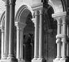 colonne della chiesa di Alseno