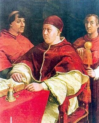 Leone X, figlio di Lorenzo il Magnifico