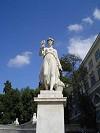 sculture in Villa Borghese a Roma