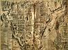 Carta antica della città di L'Aquila