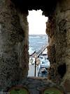 Postazione di difesa nei bastioni di Alghero