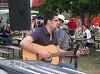 Renato Podestà alla chitarra