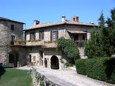 la Rocca d'Olgisio in Val Tidone