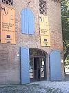 facciata del museo della mezzadria senese