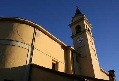 la chiesa di Pecorara