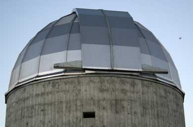 l'osservatorio astronomico a Lazzarello di Pecorara