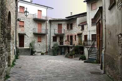 centro storico di Nibbiano