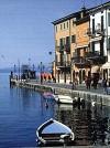 scorcio del lago di Garda: Lazise