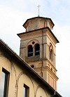 campanile dell'Abbazia di Castione Marchesi