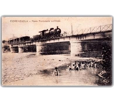 foto d'epoca di Fiorenzuola
