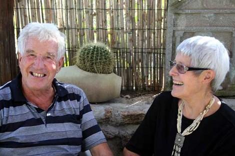 Gret Lutz-Stemmler con il marito Willy