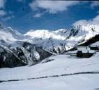 rilievi del Gran San Bernardo in Valle d'Aosta