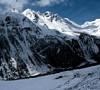 neve sui monti della Valle d'Aosta