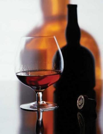liquore in bicchiere